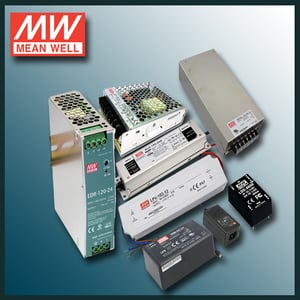 SMPS Power Supply (Mean Well And Carlo Gavazzi )