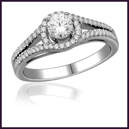 Diamond Engagement Rings in Mumbai Maharashtra H K Designs India
