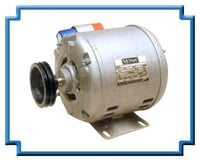 Induction Motor With Pulley