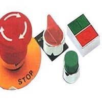 LED Illuminated Pilot Lights Push Buttons Selector Switches
