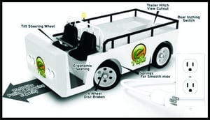 E-Tug Electric Tow Tractor