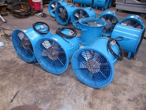 Axial Flow Fans Duct Mounting
