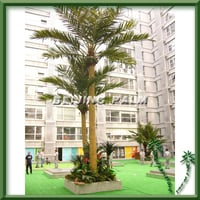 Outdoor Artificial Coconut Tree With Fruit