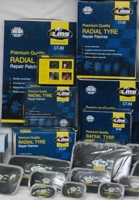 Vulcanizing Tyre Patches