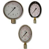 Bourdon Type Pressure Vacuum And Compound Gauge