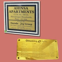 Brass/ Copper/ Bronze Labels And Name Plates