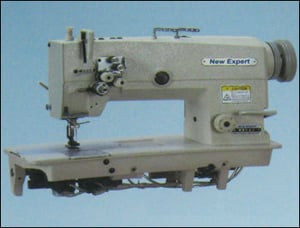 High Speed Double Needle Flatbed Lock Stitch Sewing Machine