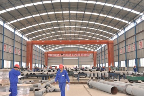 Pipe Fabrication Production Line (Fixed Type)