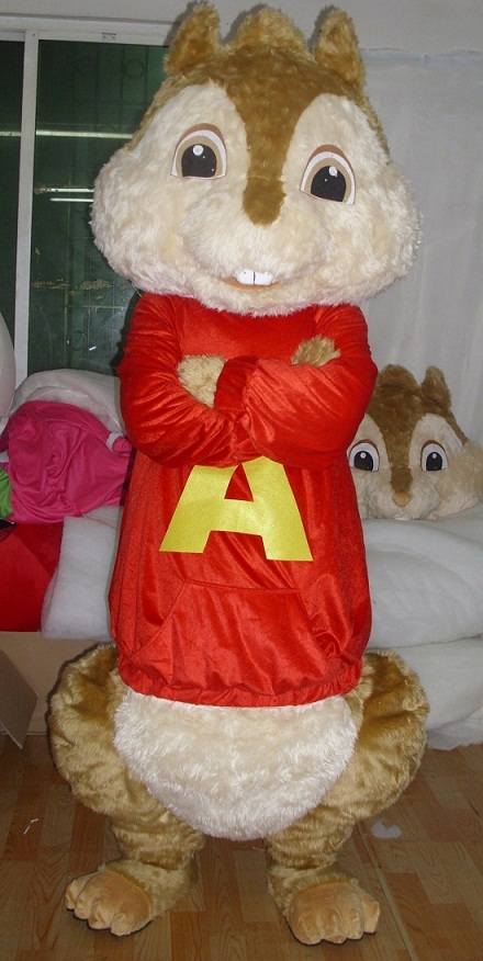 Alvin And Chipmunks Costume At Best Price In Foshan Guangdong Smart Mascot Costume Co Ltd