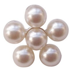 Metal Pearl Buttons