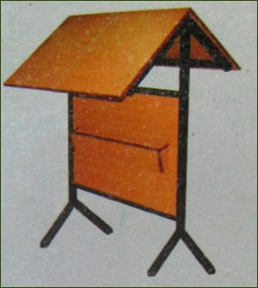 News Paper Reading Stand