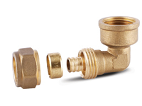 Brass Plumbing Fittings For PEX Pipes