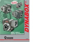 Girard Right Angle Worm Servo Gearbox