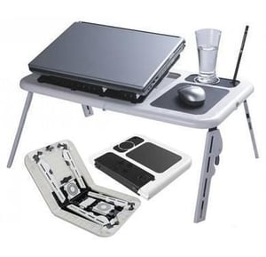 Laptop Table With Usb Cooler