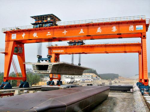 450 T Special Gantry Crane for Hoisting Beam