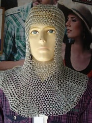 Chain Mail Coif Armour Chainmail Dress