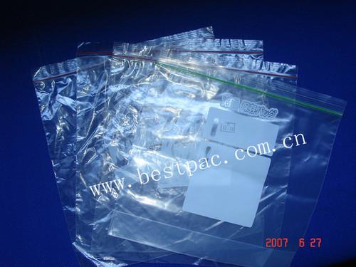 LDPE Zipper Bag