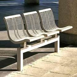 Stainless Steel Park Chair