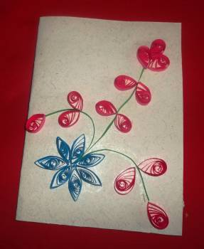 Fabulous Paper Quilled Greeting Cards At Best Price In Puducherry Personalised Birthday Cards Cominlily Jamesorg