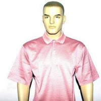 Cotton Knitted Men's Yarn Dyed T-Shirt