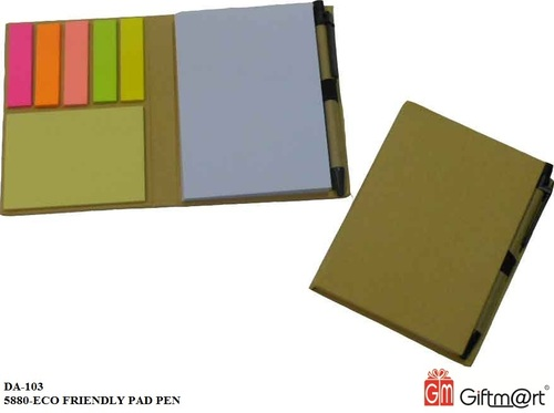 Eco Friendly Pad With Sticky Notes