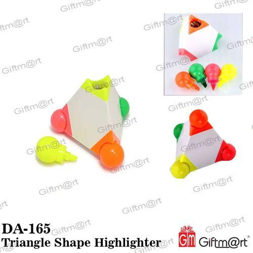 Pyramid Shape Highlighther Pen