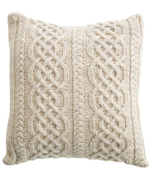 Hand Knitting Cushion Cover