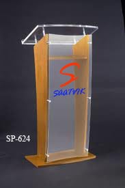 Wooden And Acrylic Podium SP-624