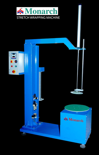 Semi Automatic Stretch Wrapper Machine