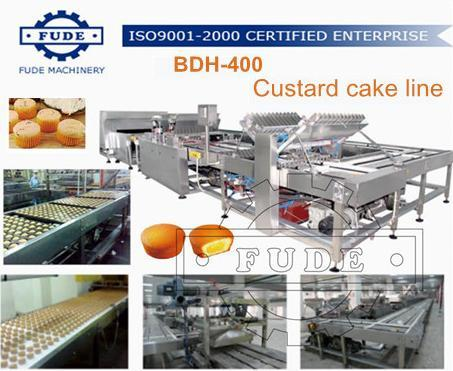 Custard Cake Line