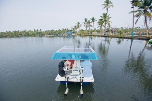 Solar Powered Boat in   N. Kalamassery