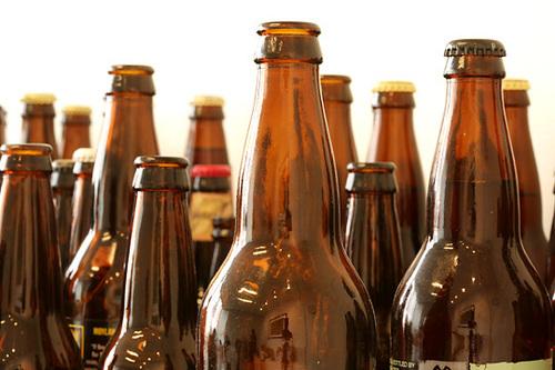 Amber Color Glass Bottles