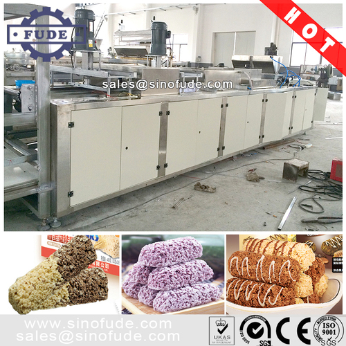 Oat Cereal Chocolate Bar Production Line