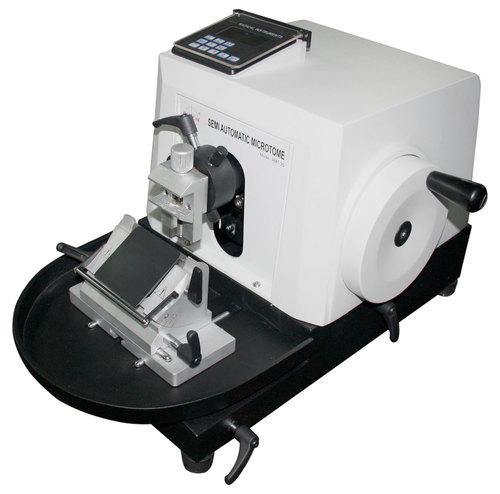 Semi Automatic Rotary Microtome Machine