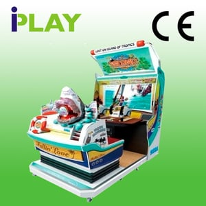 Lets Go Island 42 Inch Lcd Arcade Shooting Game Machine