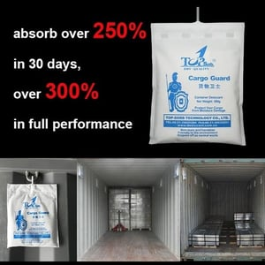 White Colored Desiccant Bags