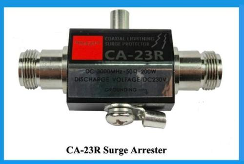 N RF Surge Arrester Female To Female 3000Mhz