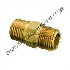 Brass Metal Hex Reducing Nipple