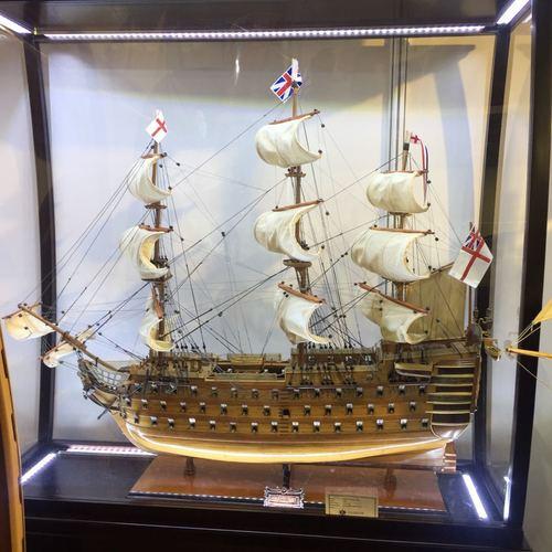 HMS Victory Medium Wooden Handmade Model Ship