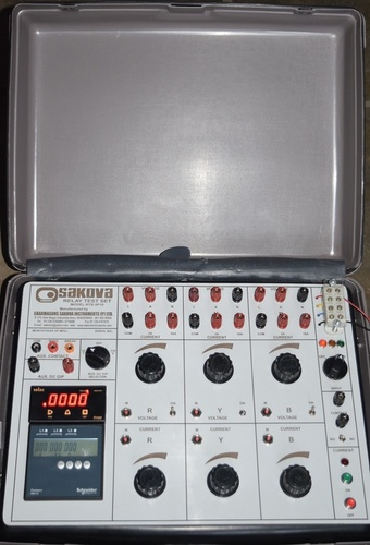 3 Phase Relay Testing Kit