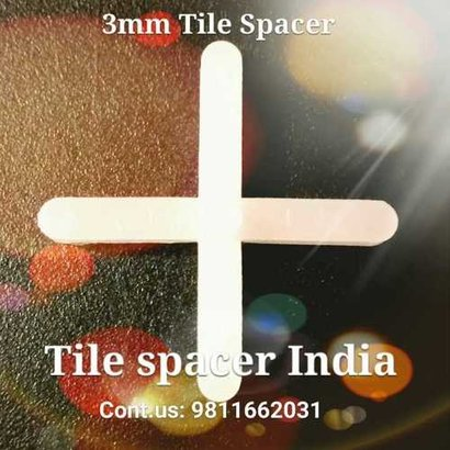 Solid Tile Spacers (3Mm) Application: Construction