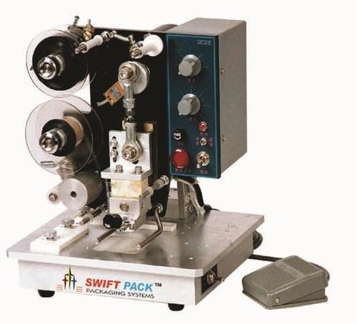 Hot Ribbon Base Stamping Machine