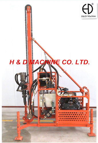 HD-40A Portable Drilling Rig For Works On Mountains