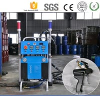 Polyurethane Pu Spray Foam Injection Machines For Roof Insulation