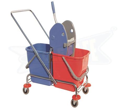 Robust Mop Wringer Trolley