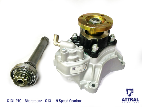 G131 Gearbox PTO for Bharatbenz
