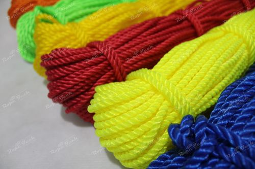 Twisted Colored HDPE Ropes