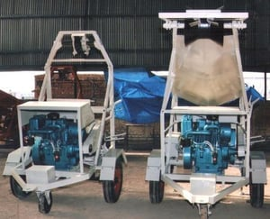 Bucket Type Sewer Cleaning Machine
