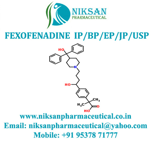 Fexofenadine Ip/Bp/Ep/Usp