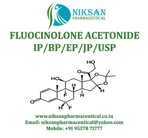 Fluocinolone Acetonide Ip/Bp/Usp